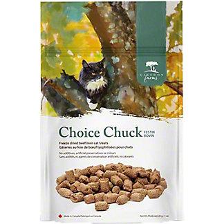 Caledon Farm Choice Chuck Cat Treats, 1 oz