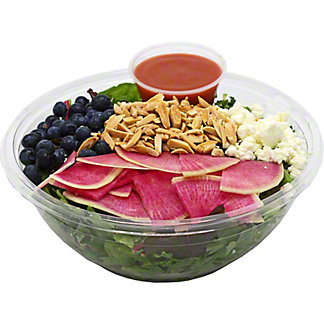 Central Market Field Green With Blueberries Family Salad, ea