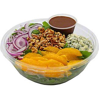 Central Market Spinach Orange Walnut Family Salad, ea