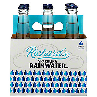 Richard's Sparkling Rainwater, Bottles, 6 pk, 12 fl oz ea