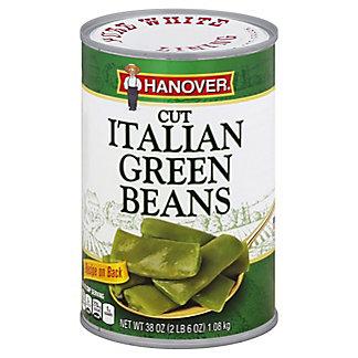 Hanover Italian Cut Green Beans, 38 oz
