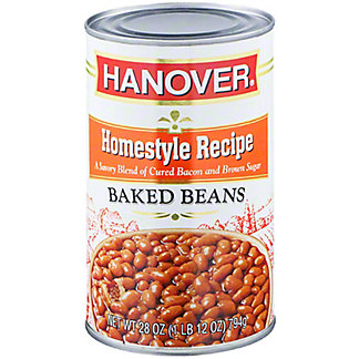 Hanover Home Style Baked Beans, 28 oz