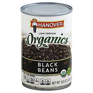 Hanover Organic Low Sodium Black Beans, 15.5 oz