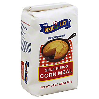 Dixie Lily Self Rising Corn Meal, 32 oz