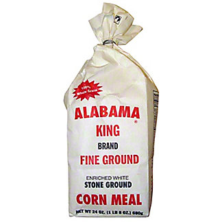 Alabama King Fine Ground Corn Meal, 24 oz