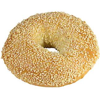 Central Market Boiled Bagel Sesame, ea