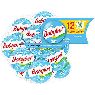 Baby Bel Mini Light Cheese, 12 ct
