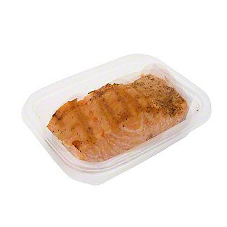 Central Market Marinated Salmon With Sticky Garlic Glaze