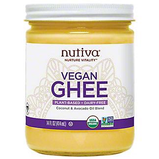 Nutiva Nurture Vitality Vegan Ghee, 14 oz