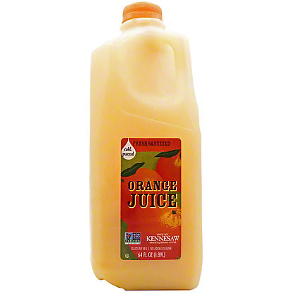 Kennesaw Orange Juice, 64 oz