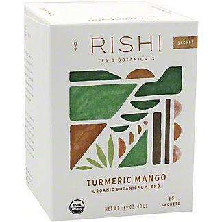 Rishi Turmeric Mango Tea Bags, 15 ct