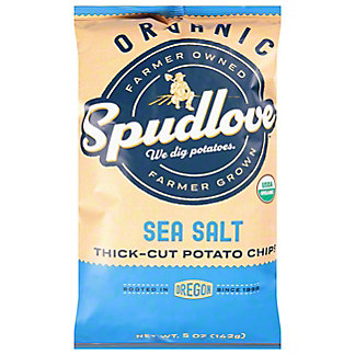 Spudlove Organic Sea Salt Potato Chips, 5 oz