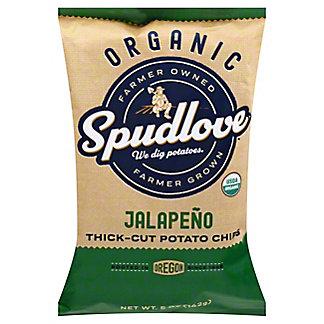 Spudlove Organic Jalapeno Potato Chips, 5 oz