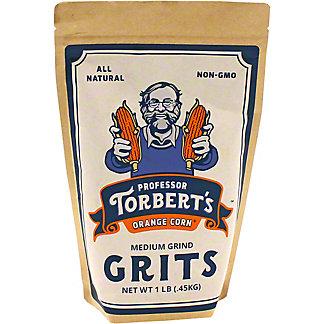 Professor Torbert's Orange Corn Medium Grind Grits, 1 lb