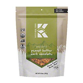 Kate's Real Food Peanut Butter Dark Chocolate Snack Bites, 6.6 oz