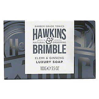 Hawkins & Brimble Elemi & Ginseng Luxury Soap Bar, 3.5 oz