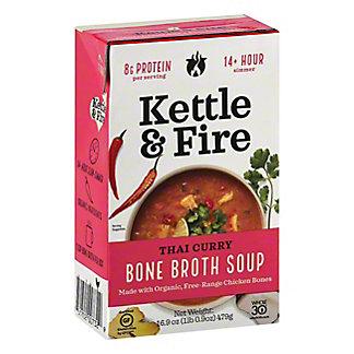 Kettle & Fire Thai Curry Bone Broth Soup, 16.9 oz
