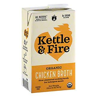 Kettle & Fire Organic Classic Chicken Bone Broth, 32 oz