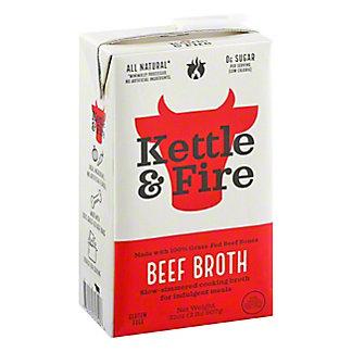 Kettle & Fire Classic Beef Bone Broth, 32 oz