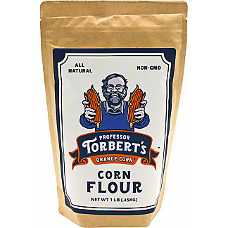 Professor Torbert's Orange Corn Flour, 1 lb