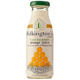 Folkington's Pure Squeezed Orange Juice, 33.8 fl oz