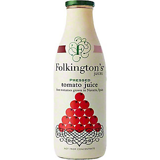 Folkington's Pressed Tomato Juice, 33.8 fl oz