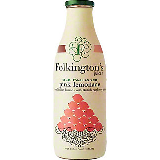 Folkington's Old Fashioned Pink Lemonade, 33.8 fl oz