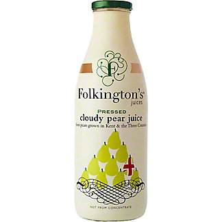 Folkington's Pressed Pear Juice, 33.8 fl oz