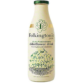 Folkington's Old Fashioned Elderflower Drink, 33.8 fl oz