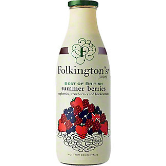 Folkington's Summer Berries Juice, 33.8 fl oz