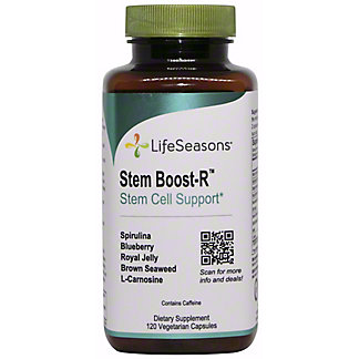 LifeSeasons Stem Boost-R Stem Cell Support, 120 ct
