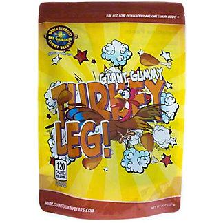 Giant Gummy Turkey Leg, 8 oz