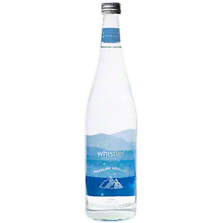 Whistler Sparkling Glacier Water, 750 ml