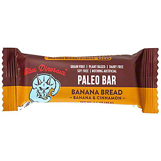 Blue Dinosaur Banana Bread Paleo Bar, 1.6 oz