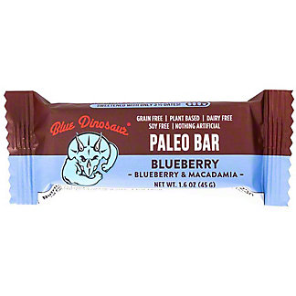 Blue Dinosaur Blueberry Paleo Bar, 1.6 oz