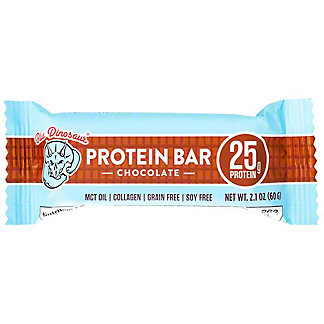Blue Dinosaur Chocolate Protein Bar, 2.1 oz