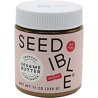 Seedible Sesame Butter Crunchy Sunflower, 11 oz
