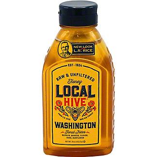 Local Hive Washngton Raw Unfiltered Honey, 16 oz