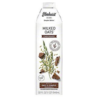 Elmhurst Chocolate Oat Milk, 32 oz