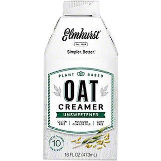 Elmhurst Oat Creamer Unsweetened, 16 fl oz