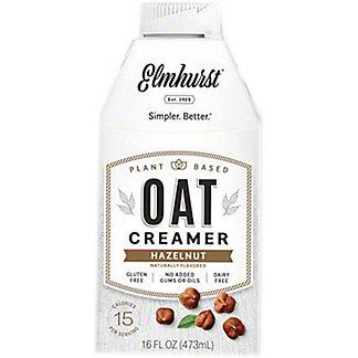 Elmhurst Hazelnut Oat Creamer, 16 oz