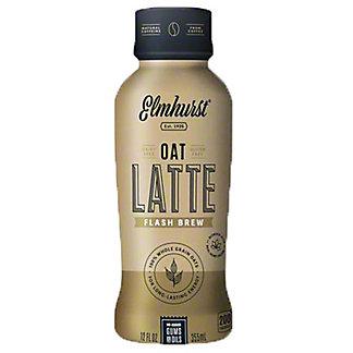 Elmhurst Flashbrew Coffee Oat Latte, 12 fl oz
