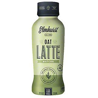 Elmhurst Oat LatteMatcha, 12 fl oz