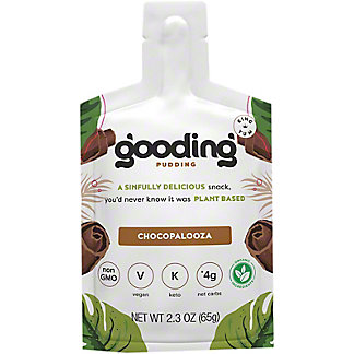 Gooding Pudding Vegan Chocolate Pudding, 2.3 oz