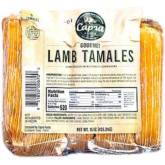Capra Gourmet Lamb Tamales, 15 oz