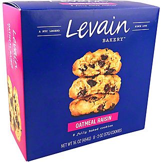 Levain Bakery Oatmeal Raisin Cookies, 16 oz