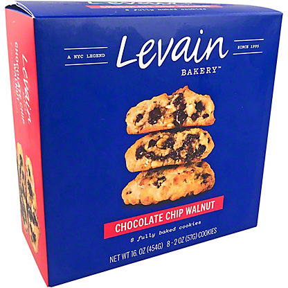 Levain Bakery Chocolate Chip Walnut Cookies, 16 oz
