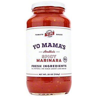Yo Mama's Spicy Marinara Pasta Sauce, 25 oz