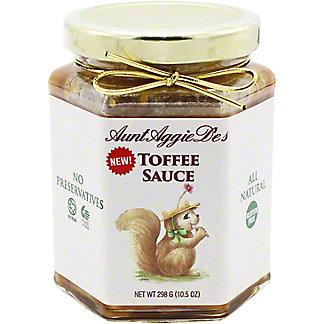 Aunt Aggie De's Toffee Sauce, 10.5 oz