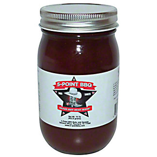 5-Point BBQ Texas Hot Heatwave, 16 oz